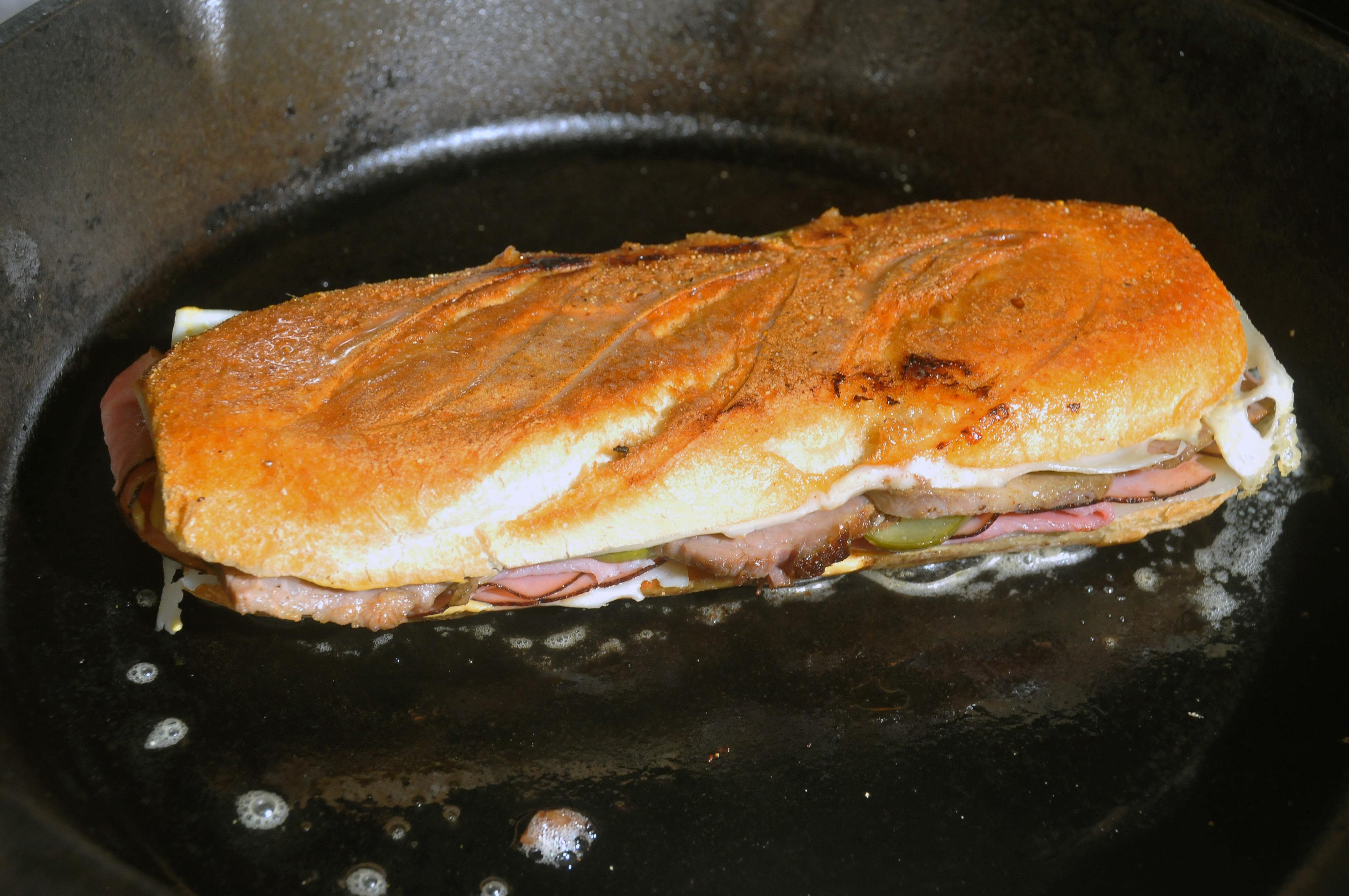 Cuban Sandwich Fliped